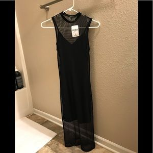 Sexy sheer 2 layer dress